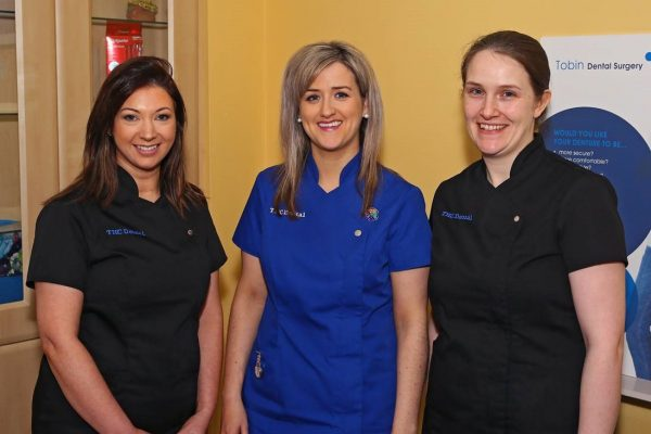 Tracey O'Connor, Sabrina Conway, Angela Neary